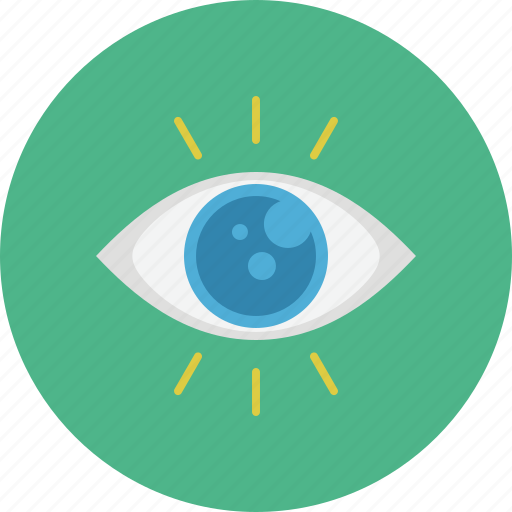 business, eye, marketing, search, seo, view, web icon