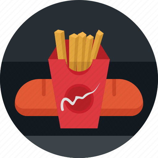 fastfood, food, french, fries, restaurant icon