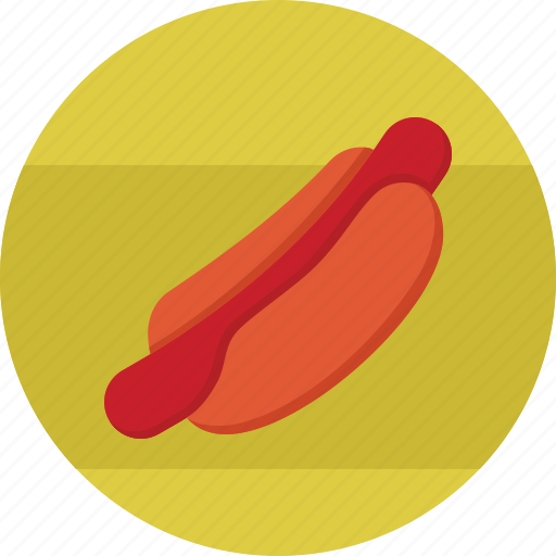 dog, eating, fast, food, hot, hotdog, restaurant icon