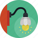 creative, electric, idea, lamp, light icon