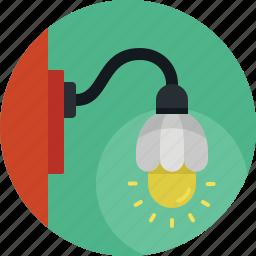 creative, electric, idea, lamp, light icon