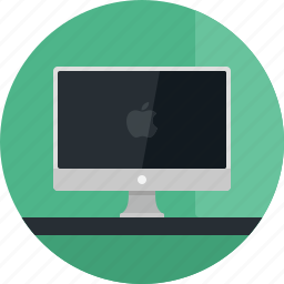 computer, desktop, display, mac, monitor, pc, screen, technology icon