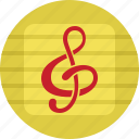 audio, media, multimedia, music, note icon