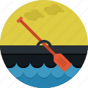 boat, paddle, ship, sport, transportation icon