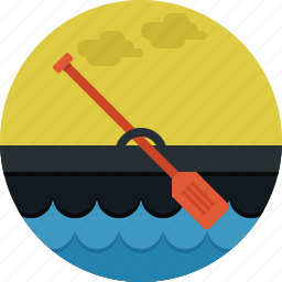 boat, paddle, ship, sport, transportation icon
