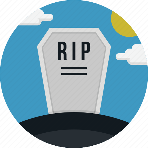 dead, death, halloween, rip, scary icon