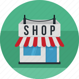 business, finance, financial, office, shop, shopping icon