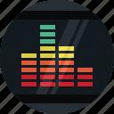 indicator, volume, audio, media, music, sound, multimedia