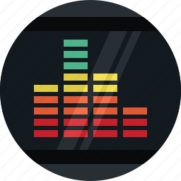 audio, indicator, media, multimedia, music, sound, volume icon