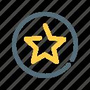 platinum, premium, quality, star icon