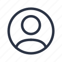 account, avatar, profile, user