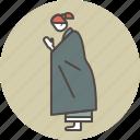 color, gassho, nun, profile icon