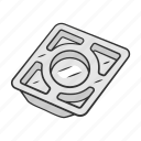 device, food, natural, stainless, steel, tool, tray icon