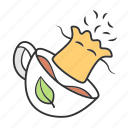 accessory, bag, container, infusion, kitchen, phytotherapy, tea icon