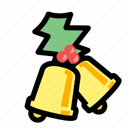bells, christmas, holiday, winter, xmas icon