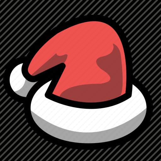 christmas, hat, holiday, santa, winter, xmas icon