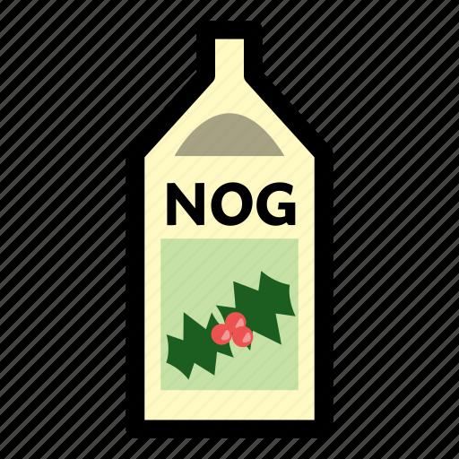 christmas, eggnog, holiday, nog, winter, xmas icon