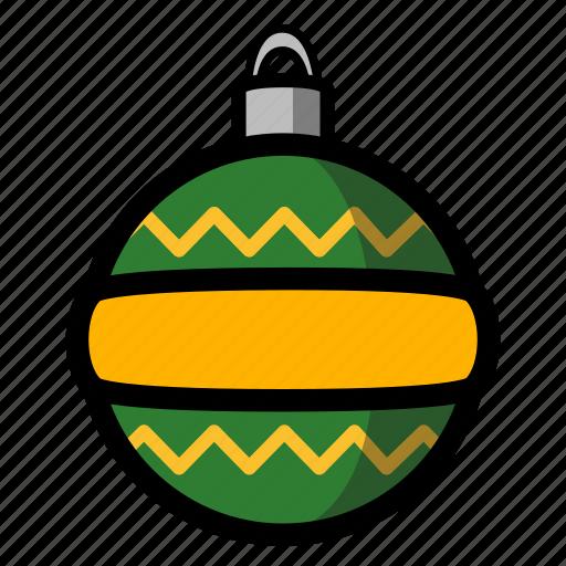 christmas, holiday, ornament, winter, xmas icon