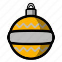 christmas, holiday, ornament, winter, xmas icon
