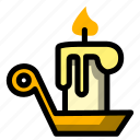candle, christmas, holiday, winter, xmas icon