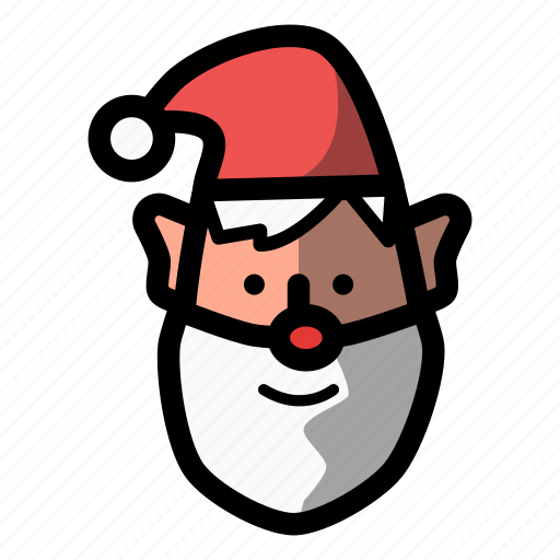 christmas, claus, holiday, nick, santa, winter, xmas icon