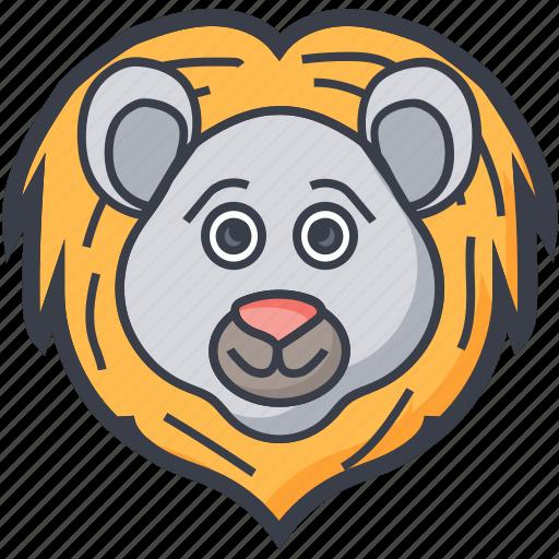 bear, bear face, grizzly, wildlife, zodiac icon