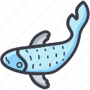 fish, pisces, pisces sign, zodiac, zodiac pack icon