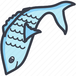 fish, fishing, pisces, seafood, zodiac icon