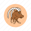 astrology, capricorn, horoscope, predictions, sign, zodiac icon