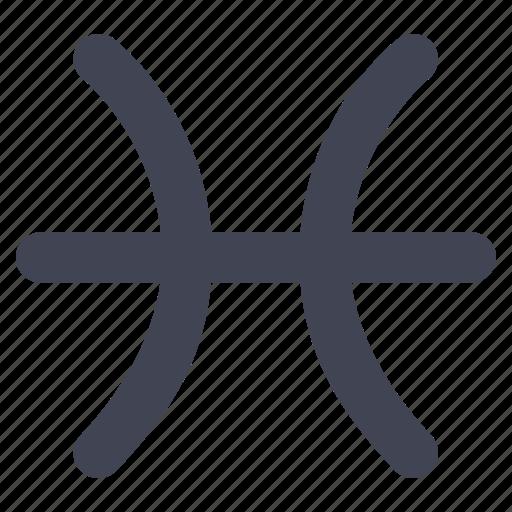 horoscope, personality, pisces, starsign, zodiac icon