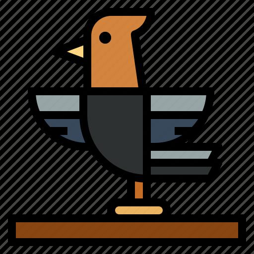 animals, bird, pet, zoo icon