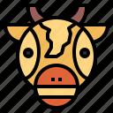 africa, giraffe, wildlife, zoo icon