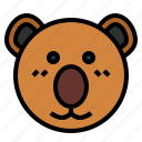 australia, bear, koala, zoo icon
