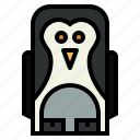 animal, penguin, wildlife, zoo icon
