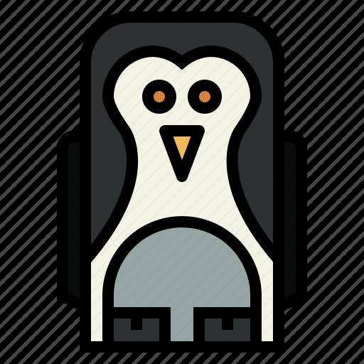 animal, penguin, wildlife, zoo icon