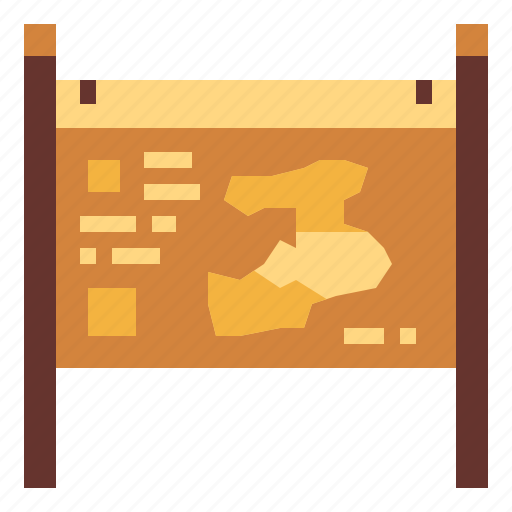geography, location, map, position icon