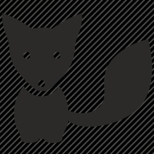 animal, child, fox, predator, wild icon