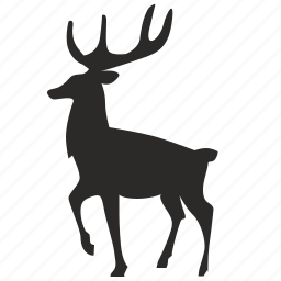 animal, deer, forest, wild icon