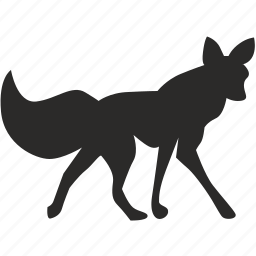 animal, fox, wild, wolf icon