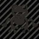 feeling, frog, ok, smiley, toad icon