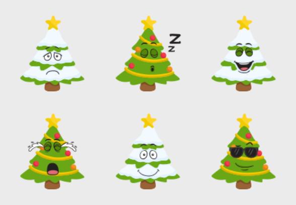 christmas tree emoji