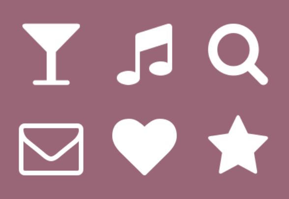 Font Awesome icons by