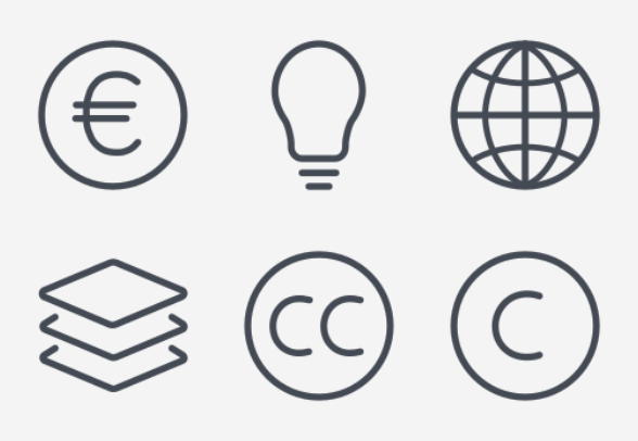 Basic Design Line : Iconset line design basic set icons download free