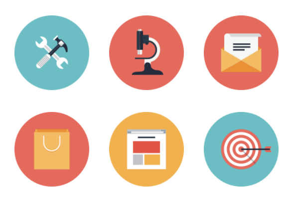 Search Engine Optimization Icons By Anatolii Babii