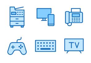 30px: Devices - Blue Line