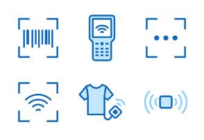 30px: RFID - Blue Line