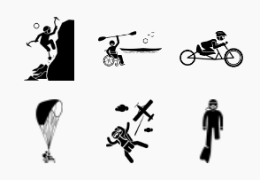 Adaptive sports and accessible recreational activities for handicapped