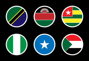 Africa Country Flags