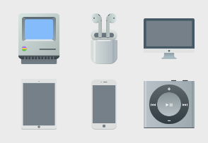 Apple Products Set