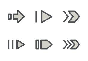 Arrows Filled